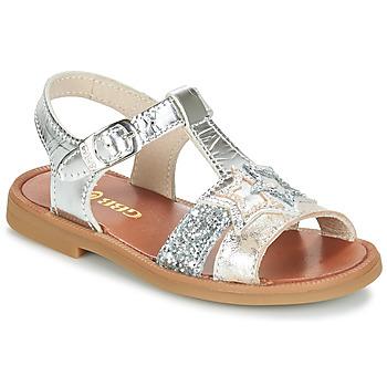 Sapatos Rapariga Sandálias GBB SHANTI Prata