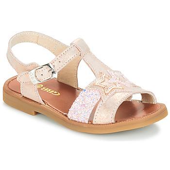 Sapatos Rapariga Sandálias GBB SHANTI Rosa