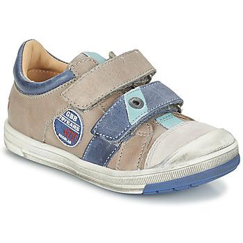 Sapatos Rapaz Botas baixas GBB SERGE Toupeira - azul / Flash