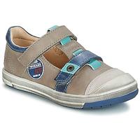 Sapatos Rapaz Botas baixas GBB SCOTT Cinza / Azul