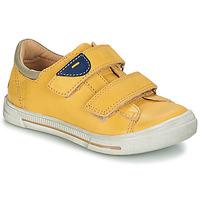 Sapatos Rapaz Botas baixas GBB SEBASTIEN Amarelo / Snow