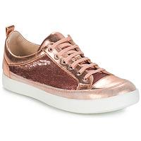 Sapatos Rapariga Botas GBB ISIDORA Rosa - dourado