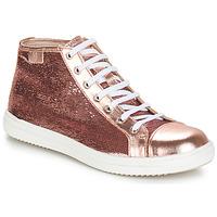 Sapatos Rapariga Botas baixas GBB IMELDA Rosa - dourado
