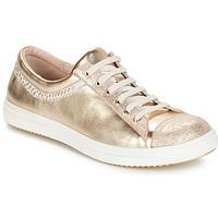 Sapatos Rapariga Botas baixas GBB GINA Bege-ouro