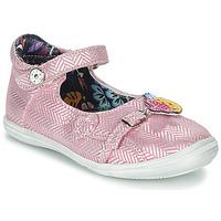 Sapatos Rapariga Sandálias Catimini SITELLE Rosa / Prata