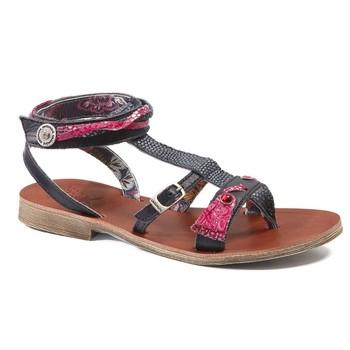 Sapatos Rapariga Sandálias Catimini SABRALIA Marinho - fuchsia