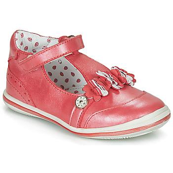 Sapatos Rapariga Sabrinas Catimini SANTOLINE Vermelho / Nacre