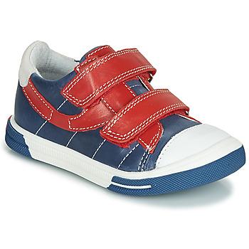 Sapatos Rapaz Sapatilhas Catimini SORBIER Azul / Vermelho