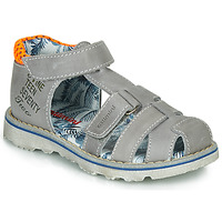 Sapatos Rapaz Sandálias Catimini SYCOMORE Cinza / Laranja