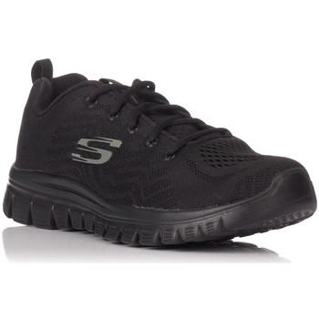 Sapatos Homem Sapatilhas Skechers 12615 Preto