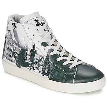 Sapatos Homem Sapatilhas de cano-alto American College BREAKDANCE Preto / Branco