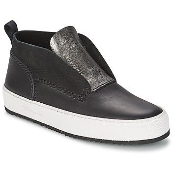 Sapatos Mulher Sapatilhas de cano-alto Barleycorn CLASSIC Preto