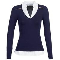 Textil Mulher camisolas Morgan MYLORD Azul / Branco