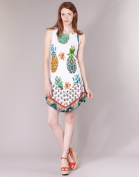 Textil Mulher Vestidos curtos Desigual HOQLER Branco