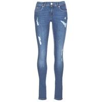 Textil Mulher Calças de ganga slim Kaporal LOKA Azul