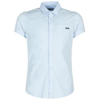 Textil Homem Camisas mangas curtas Kaporal LOGIK Azul