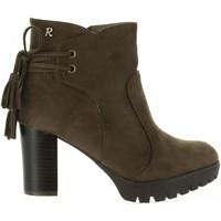 Sapatos Mulher Botins Refresh 63654 Marrón