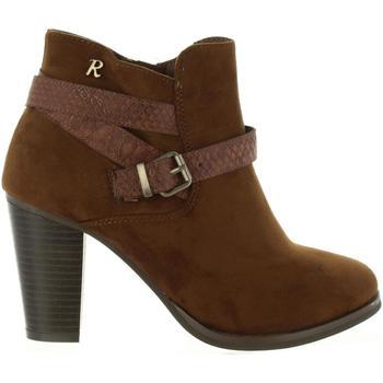 Sapatos Mulher Botins Refresh 63633 Marrón