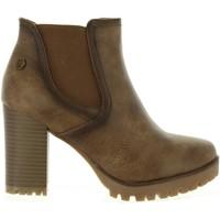 Sapatos Mulher Botins Refresh 63928 Marrón