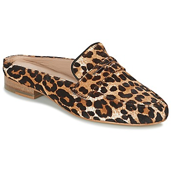 Sapatos Mulher Chinelos Maruti BELIZ Castanho / Preto