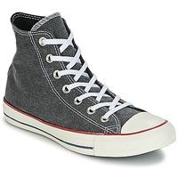 Sapatos Sapatilhas de cano-alto Converse Chuck Taylor All Star Hi Stone Wash Cinza