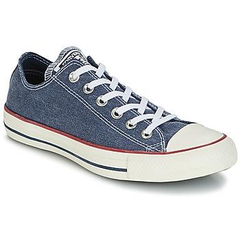 Sapatos Sapatilhas Converse Chuck Taylor All Star Ox Stone Wash Marinho