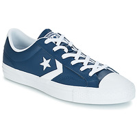 Sapatos Sapatilhas Converse Star Player Ox Leather Essentials Marinho