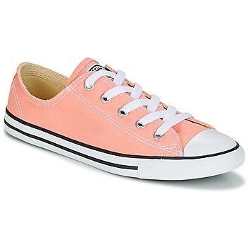 Sapatos Mulher Sapatilhas Converse Chuck Taylor All Star Dainty Ox Canvas Color Rosa