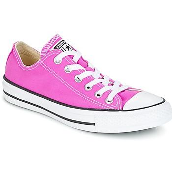 Sapatos Mulher Sapatilhas Converse Chuck Taylor All Star Ox Seasonal Colors Rosa