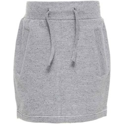 Textil Rapariga Saias Name It Kids NITKADDY BRU SWE SLIM SKIRT GREY W17 cinza