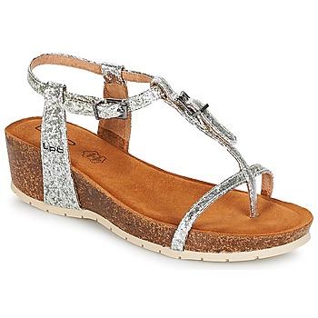 Sapatos Mulher Sandálias LPB Shoes KISS Prata