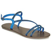 Sapatos Mulher Sandálias Les Petites Bombes NELLY Azul