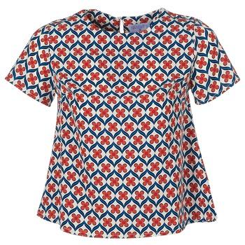 Textil Mulher Tops / Blusas Compania Fantastica PINBOL Vermelho / Azul
