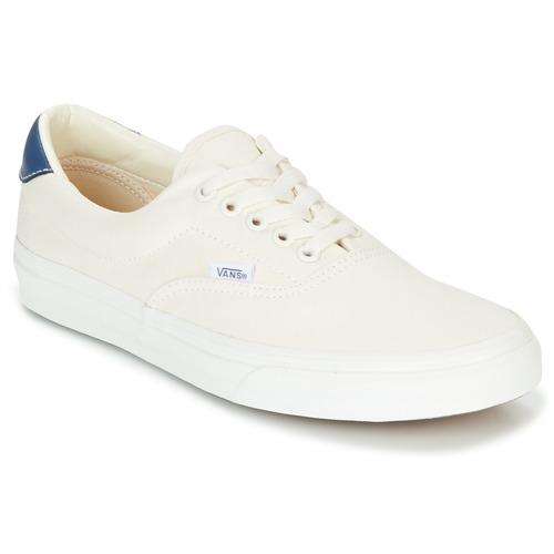 08a5c844c9e Vans ERA Branco - Entrega gratuita com a Spartoo.pt ! - Sapatos ...
