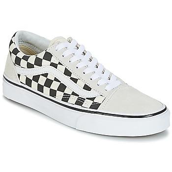 Sapatos Sapatilhas Vans OLD SKOOL Branco / Preto