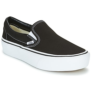 Sapatos Mulher Slip on Vans SLIP-ON PLATFORM Preto