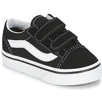 Sapatos Criança Sapatilhas Vans OLD SKOOL V Preto