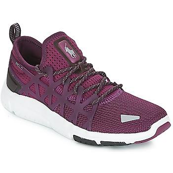 Sapatos Mulher Sapatilhas Polo Ralph Lauren TRAIN 200 Violeta e0a4f98fb2