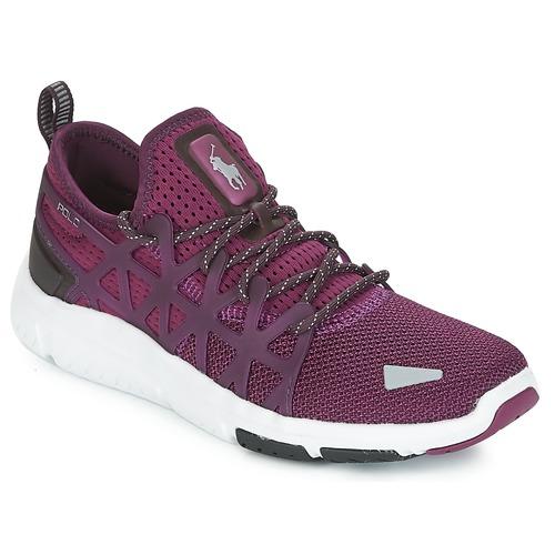 Sapatos Mulher Sapatilhas Polo Ralph Lauren TRAIN 200 Violeta