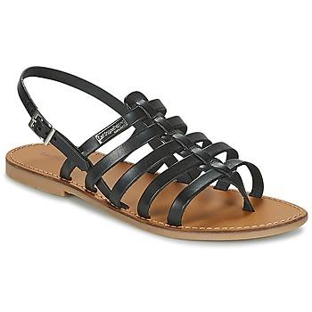 Sapatos Mulher Sandálias Les Tropéziennes par M Belarbi HERILO Preto