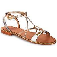 Sapatos Mulher Sandálias Les Tropéziennes par M Belarbi HIRONDEL Branco