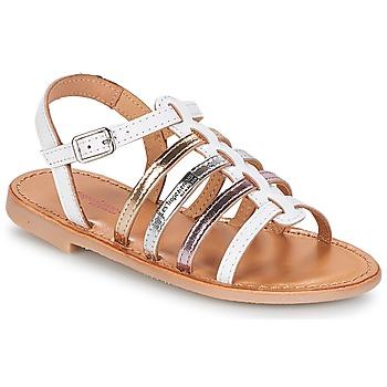Sapatos Rapariga Sandálias Les Tropéziennes par M Belarbi MONGUE Branco