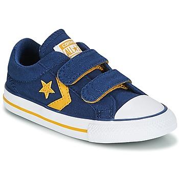 Sapatos Rapaz Sapatilhas Converse Star Player EV 2V Ox Sport Canvas Azul
