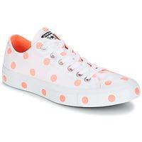 Sapatos Mulher Sapatilhas Converse Chuck Taylor All Star-Ox Branco / Laranja