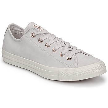 Sapatos Mulher Sapatilhas Converse Chuck Taylor All Star-Ox Rosa / Branco