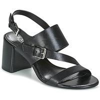 Sapatos Mulher Sandálias Lauren Ralph Lauren FLORIN Preto
