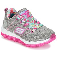 Sapatos Rapariga Sapatilhas Skechers SKECH-AIR Cinza / Rosa