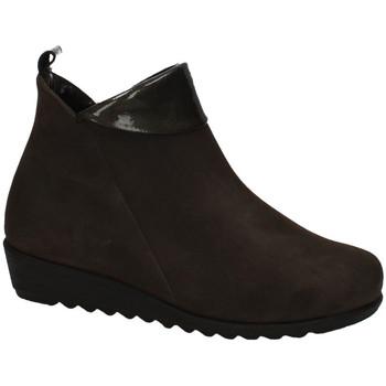 Sapatos Mulher Botas baixas Moda Bella  Castanho