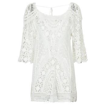 Textil Mulher Vestidos curtos Banana Moon MAGBY DREAMLAND Branco
