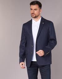 Textil Homem Casacos/Blazers Serge Blanco SUTTON Marinho